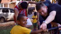 YEP Hugh Arnott at Brazil orphanage 2015